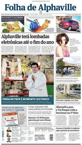 f046a0fde3 Folha de Alphaville Edição 515 by Folha de Alphaville - issuu