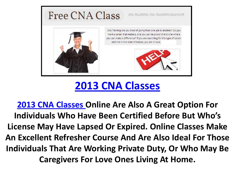 2013 Cna Classes By Freecnaclassesx Issuu