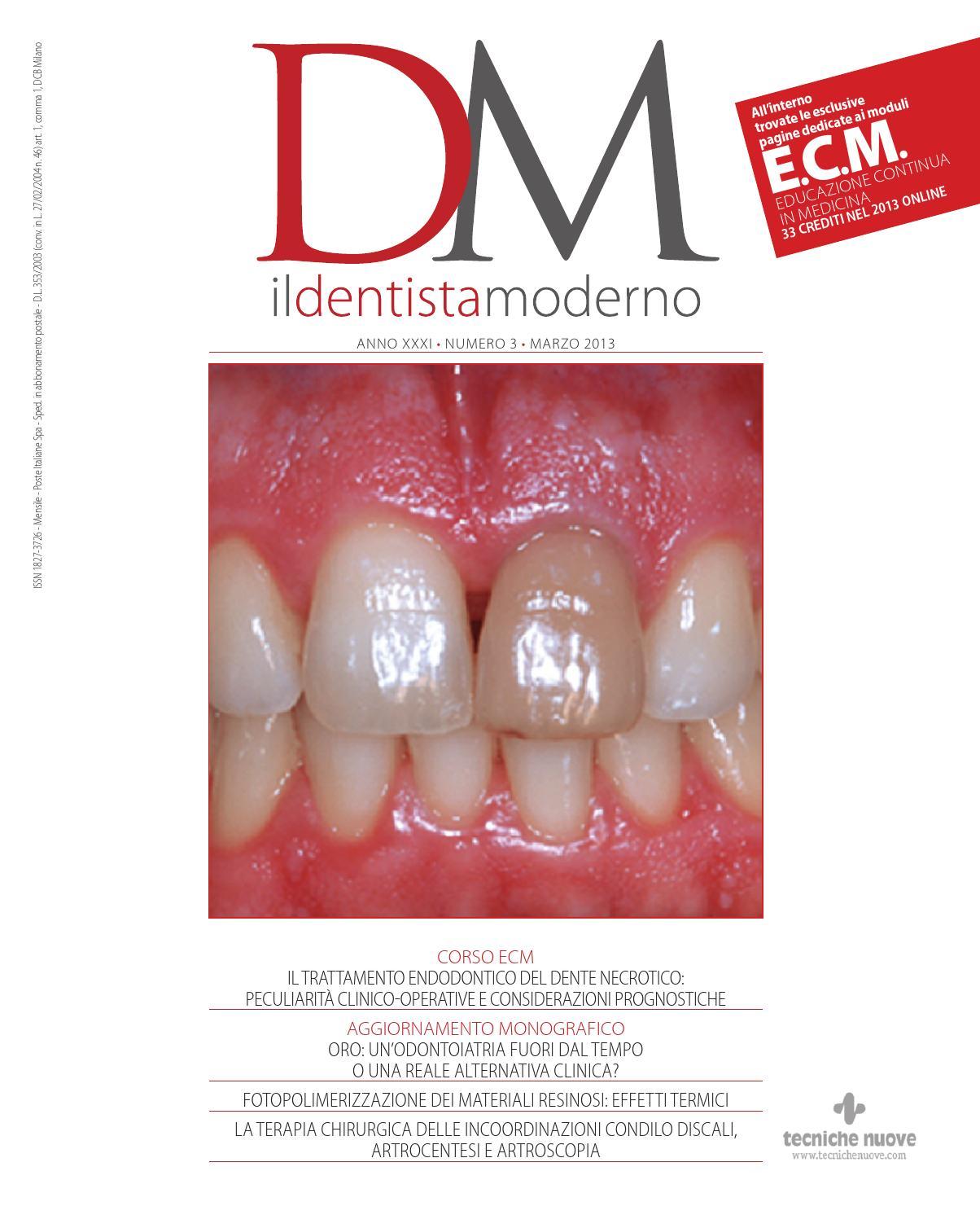 Dentista Moderno - Marzo 2013 by Versys Ediciones Técnicas 009bbebfcbf9