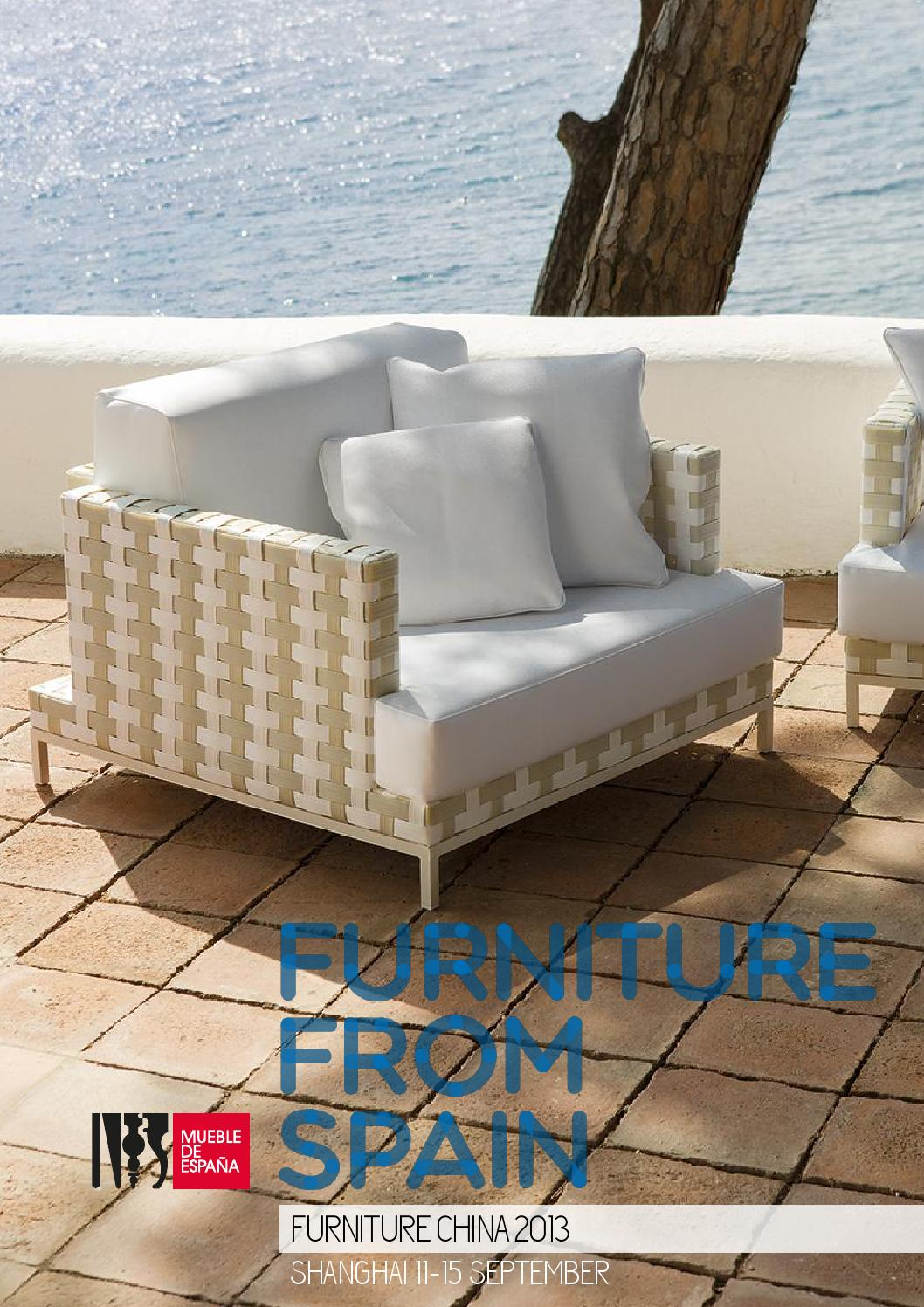 Catalogue furniture china 2013 by furniture from spain issuu - Resource furniture espana ...
