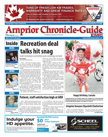 ad22376ed0334 Arnprior070413 by Metroland East - Arnprior Chronicle-Guide - issuu
