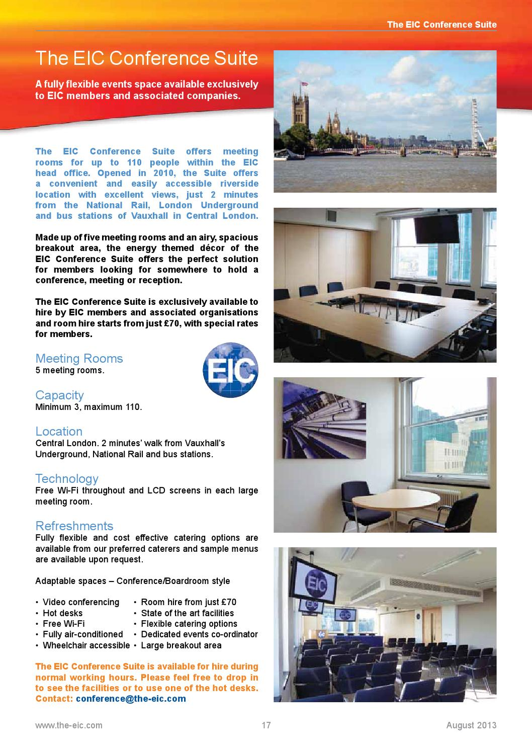 EIC Monthly News August 2013 by Energy Industries Council - issuu