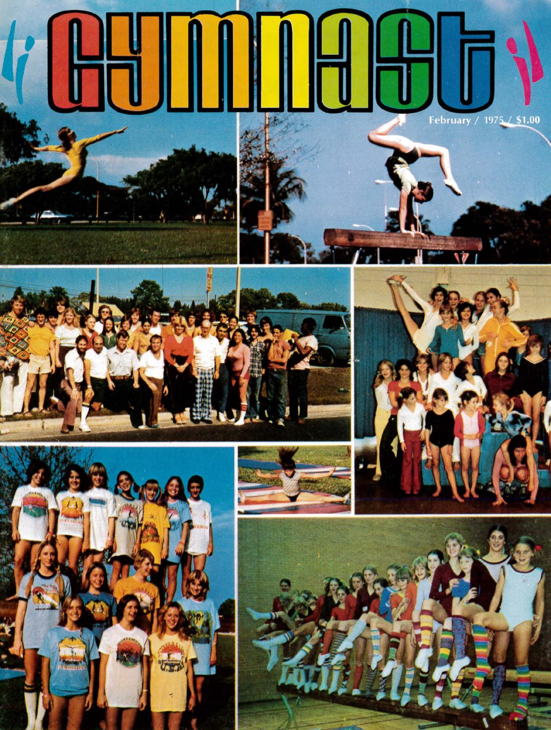 Gymnast magazine february 1975 by usa gymnastics issuu fandeluxe Image collections