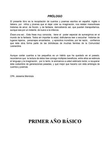 Cuento español by Alfredo - issuu