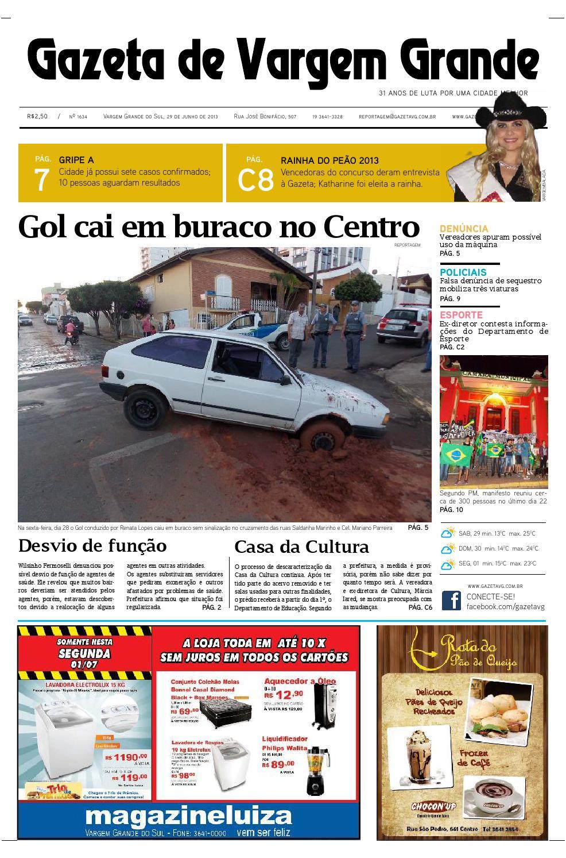 da2b33ca945 Edição 1634 - 29 06 2013 by Jonathan Domingues - issuu