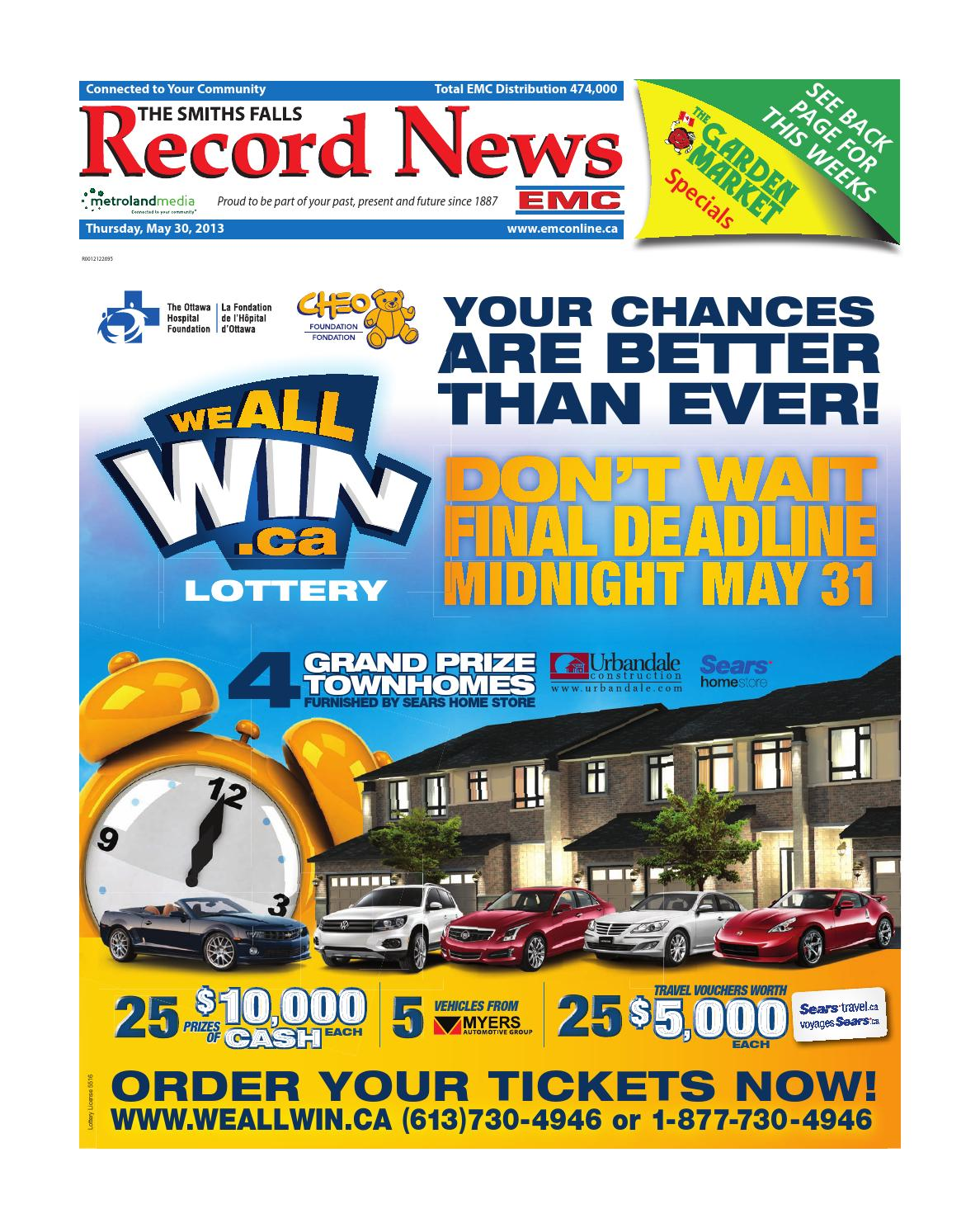Smithsfalls053013 By Metroland East Smiths Falls Record News Issuu Short Circuit Reboot Tim Hill Might Give Johnny5 New Life