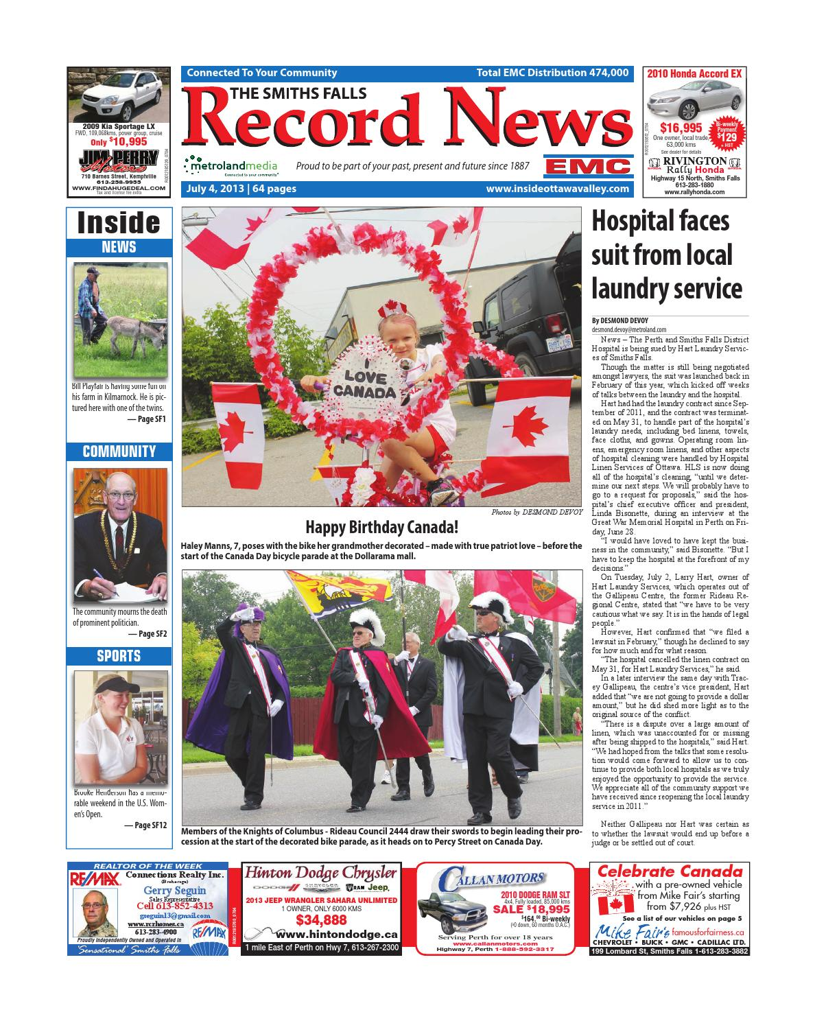 Smithsfalls070413 By Metroland East Smiths Falls Record News Issuu Painless Wiring Harness 1987 R10
