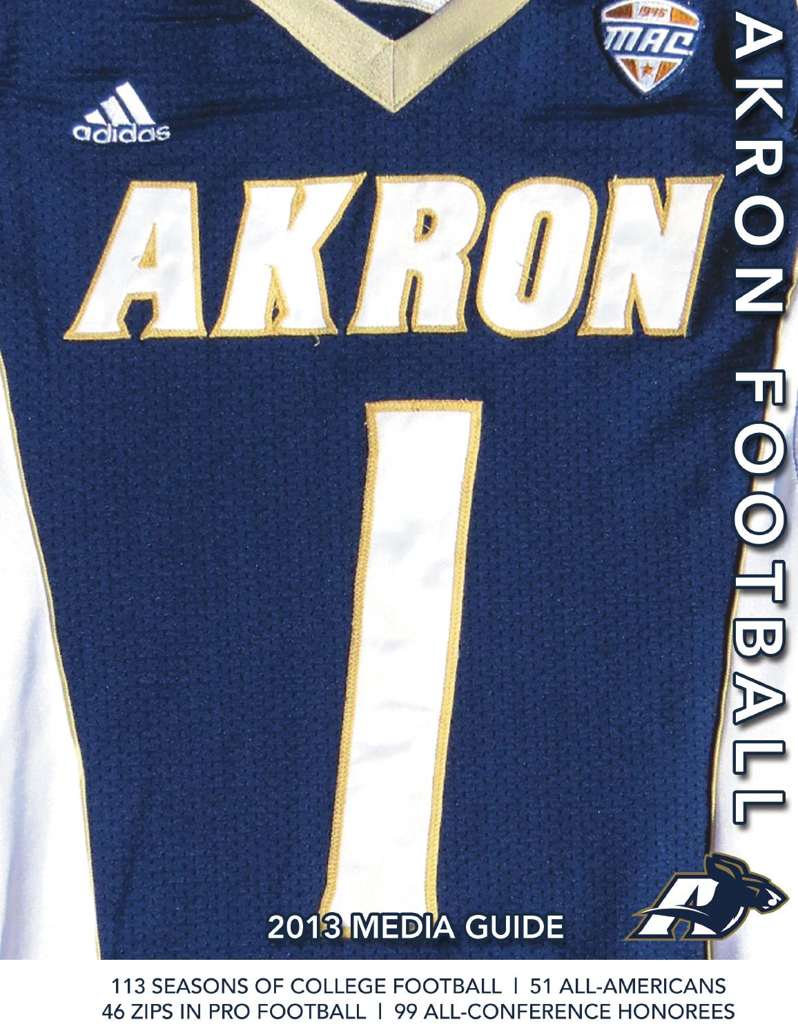 Discount 2013 Akron Football Media Guide by Akron Zips issuu  for sale