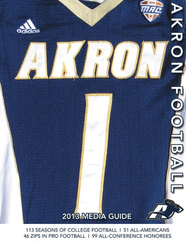 adb70ae9f 2013 Akron Football Media Guide by Akron Zips - issuu