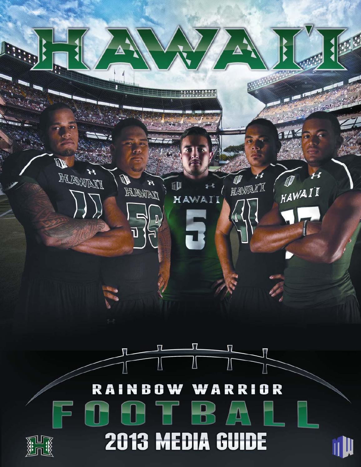2013 Uh Football Media Guide By Hawaiiathletics1