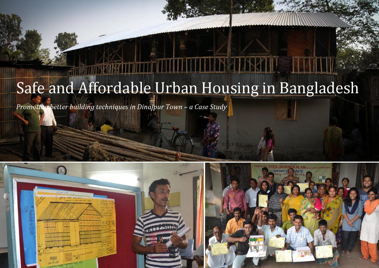 Safe and Affordable Urban Housing in Bangladesh by Simple