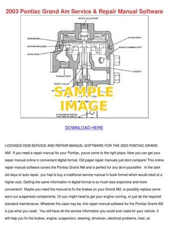 2003 pontiac grand am service repair manual s by rhondarasmussen issuu rh issuu com 2003 grand am service manual 2004 grand am service manual
