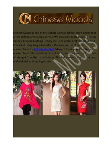 d8a4d906fdc Chinese Moods is one of the leading Chinese clothes store online that  offers all type of
