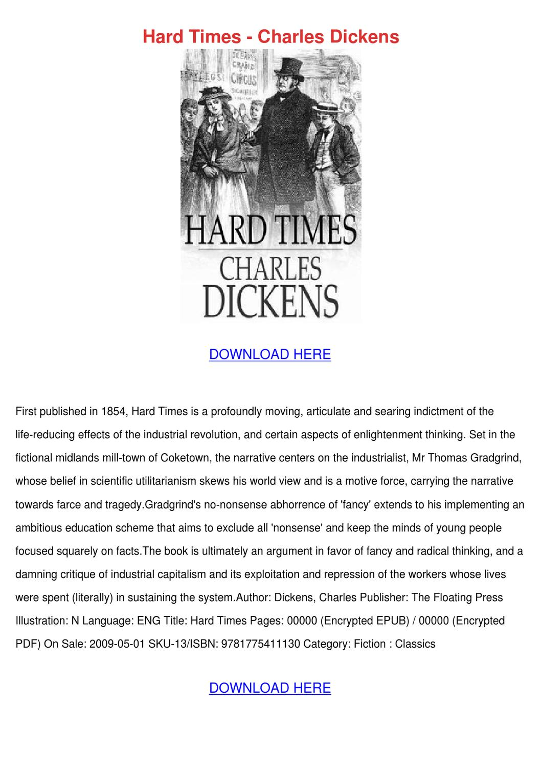 the impact of the industrial revolution on charles dickens hard times Articles tagged with 'charles dickens helen jones charles dicken's tenth novel, hard times it was a polemic against the impact of the industrial revolution.