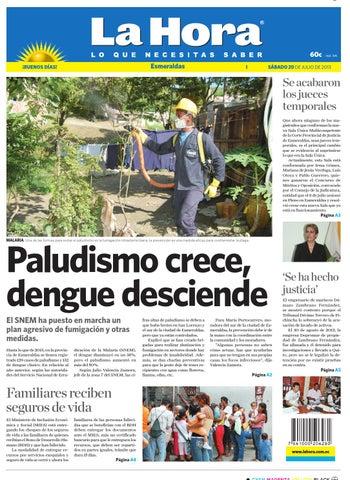 Esmeraldas 20 de julio de 2013 by Diario La Hora Ecuador - issuu 6f7a5a67ff8
