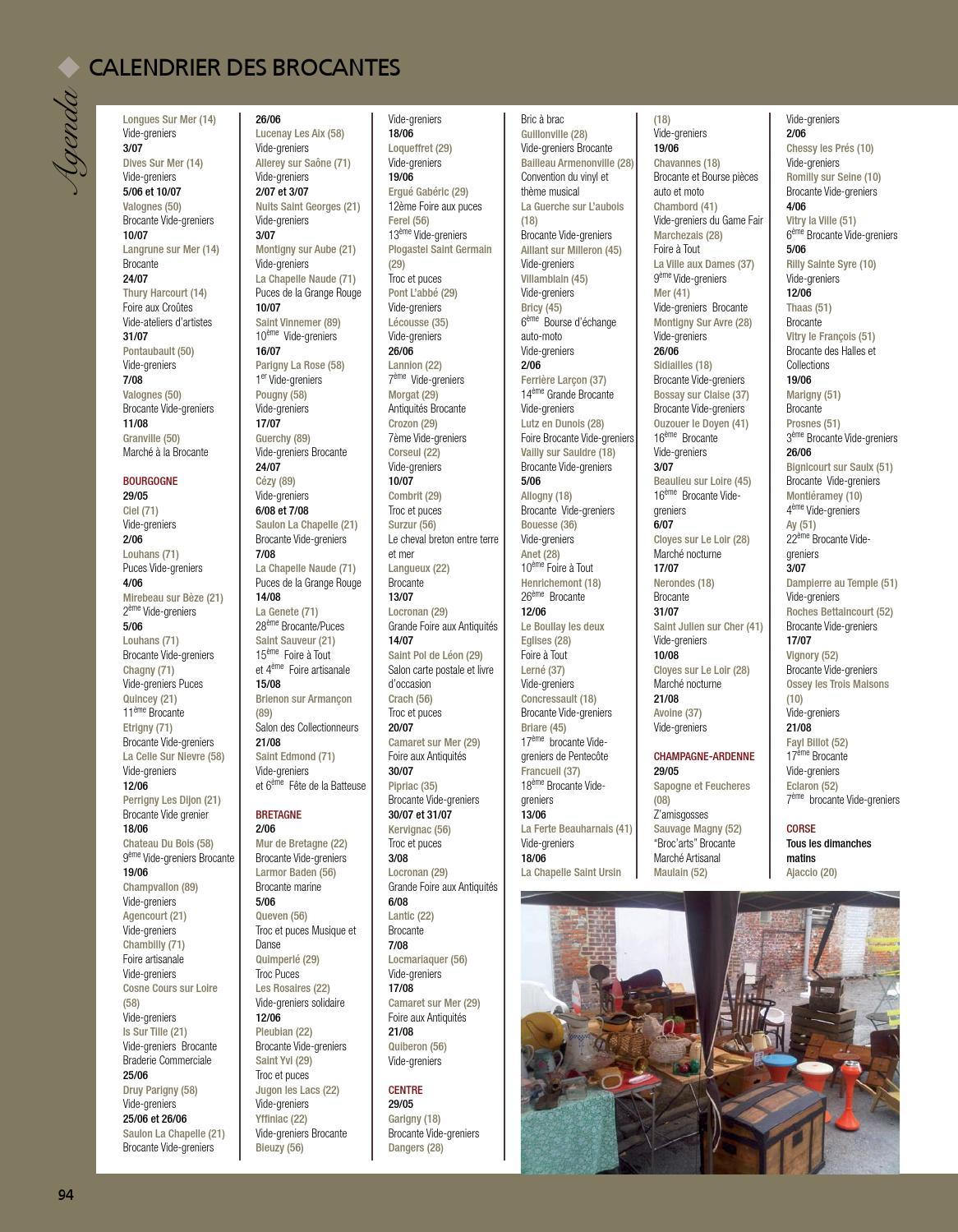 Calendrier Troc Et Puces 56.Antiquites Pratique 8 By Fabien Tourneur Issuu