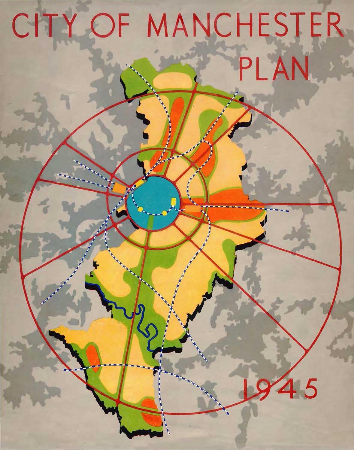City Of Manchester Plan 1945 By Martin Dodge Issuu Club Car Golf Cart Wiring Diagram Likewise Dc To Ac Converter Circuit