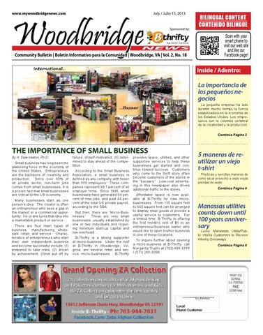 8aecdccc5c Woodbridge News - July 2013 by Antenor Rambal - issuu