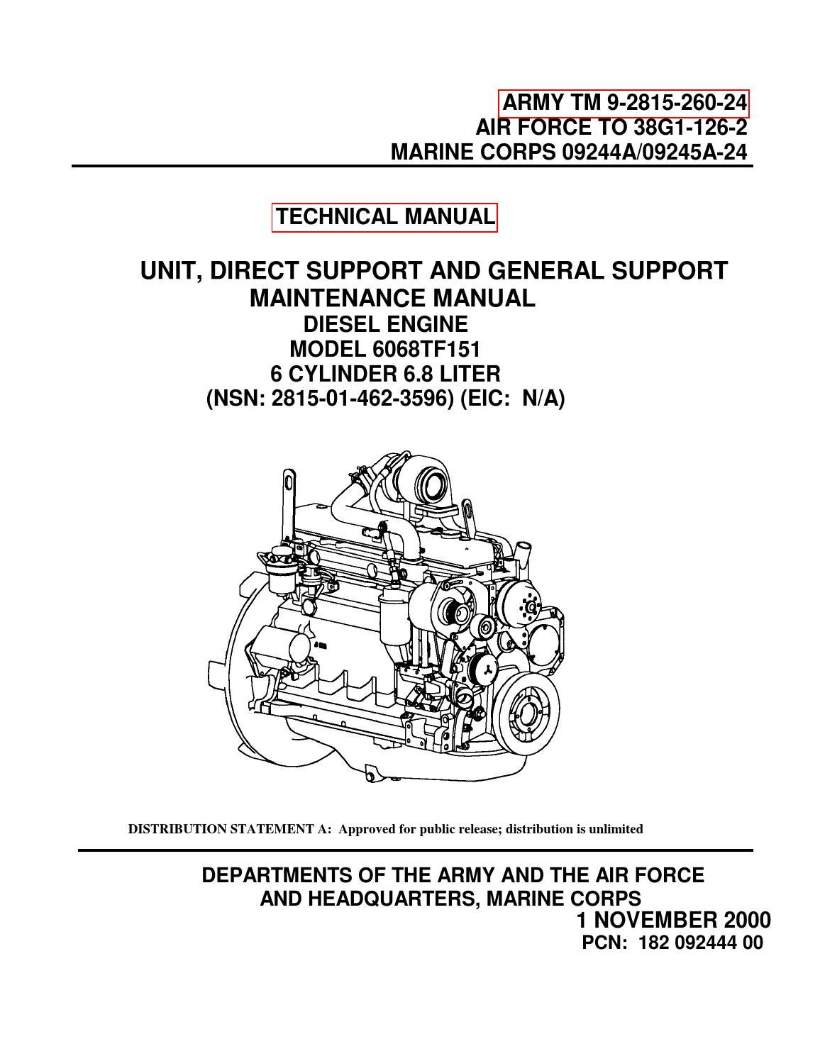 Mep 806b John Deere Engine 6068tf151 By Power Generation Issuu 270 Alternator Wiring Diagram