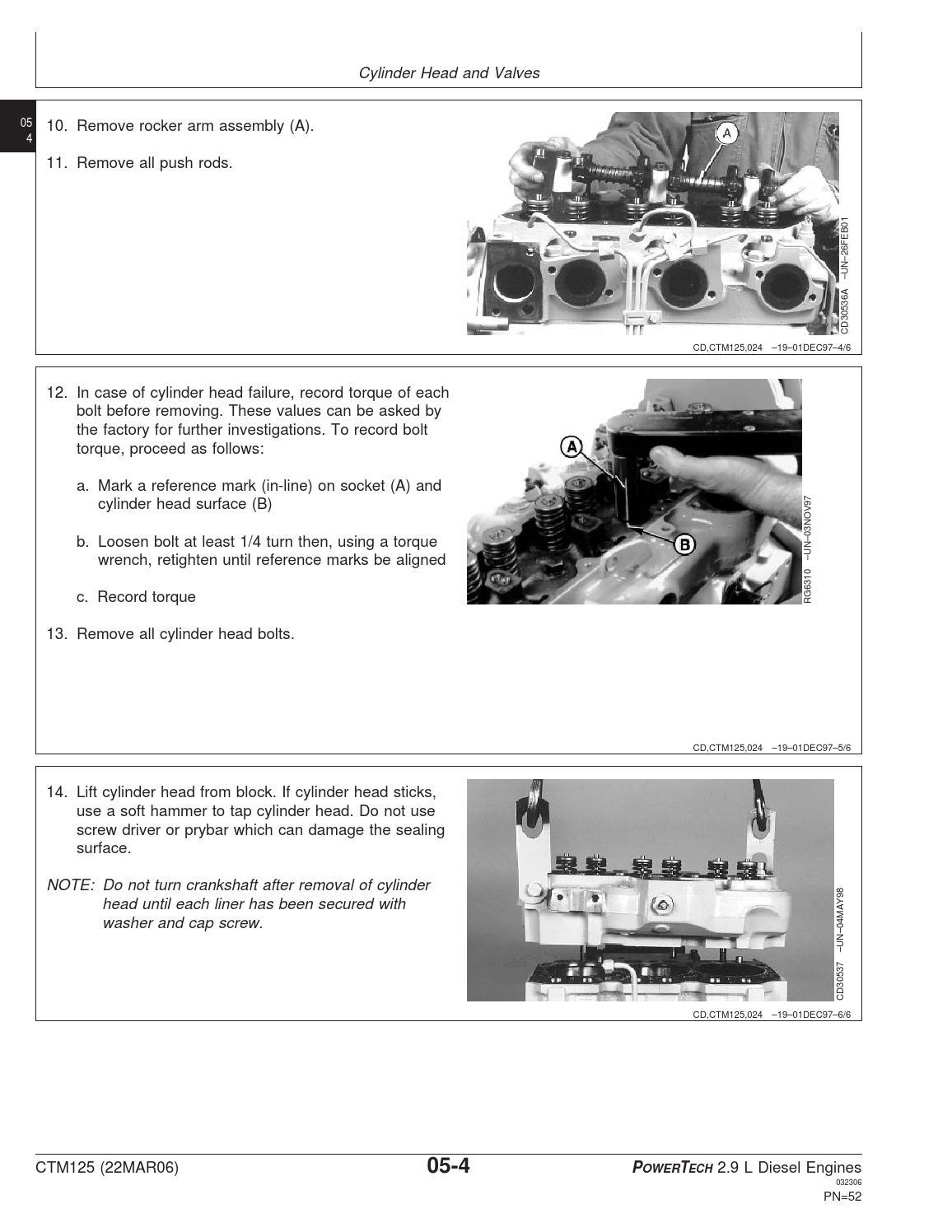 JOHN DEERE WORKSHOP MANUAL FOR ENGINE 3029 by Power Generation - issuu