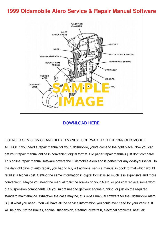 Oldsmobile Intrigue Auto Repair Manual - ChiltonDIY