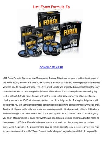 Lmt forex formula account real