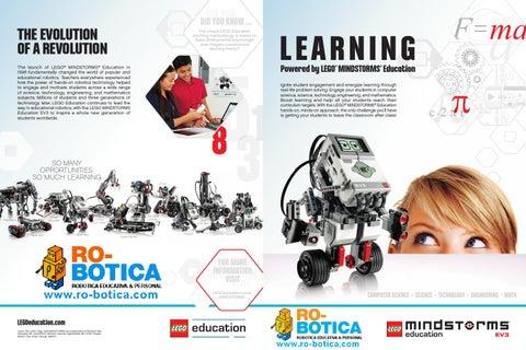 LEGO Mindstorms Education EV3 en RO-BOTICA by RO-BOTICA - issuu