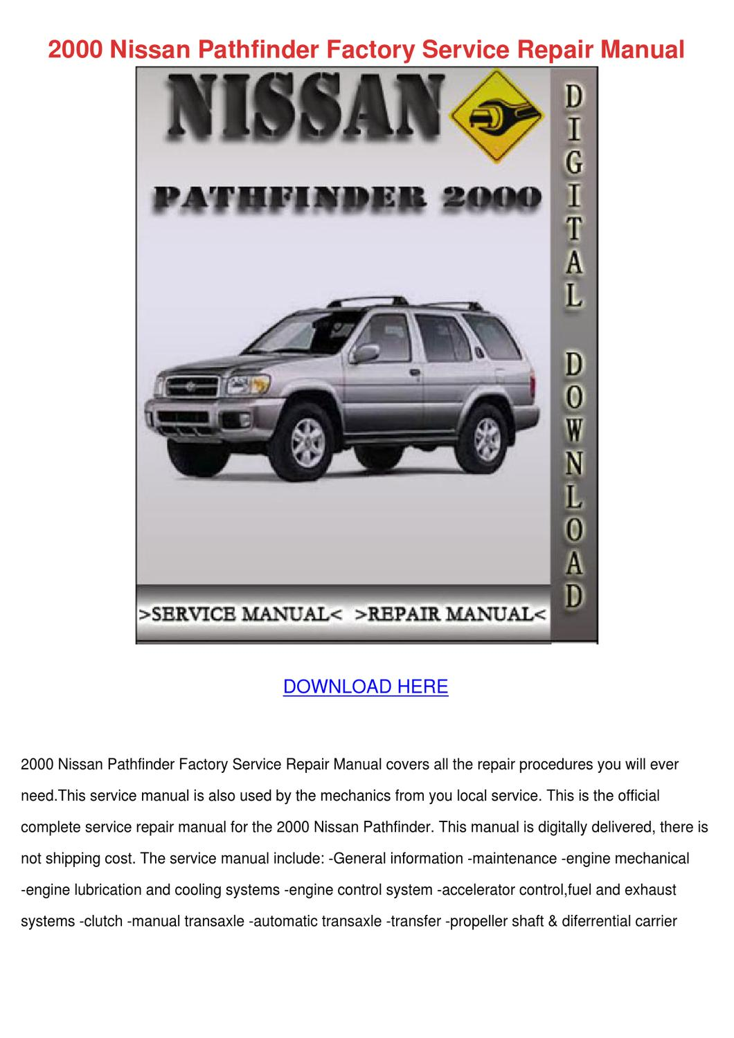 Parts Diagram For Nissan Pathfinder Xe Free Download Wiring Diagram