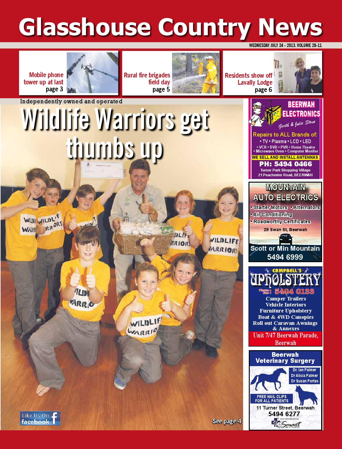 Edition 24 July 2013 By Glasshouse Country News Issuu