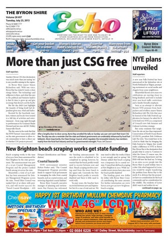 aa853c128ee Byron Shire Echo – Issue 28.07 – 23 07 2013 by Echo Publications - issuu