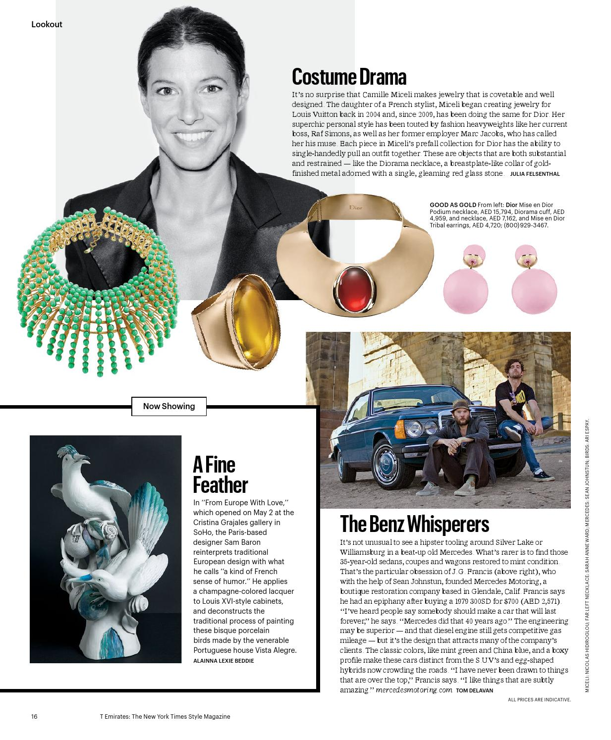 178c5ad0e19fd8 T Emirates: The New York Times Style Magazine by T Emirates - issuu