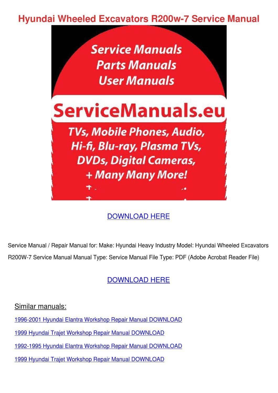 hyundai matrix repair manual