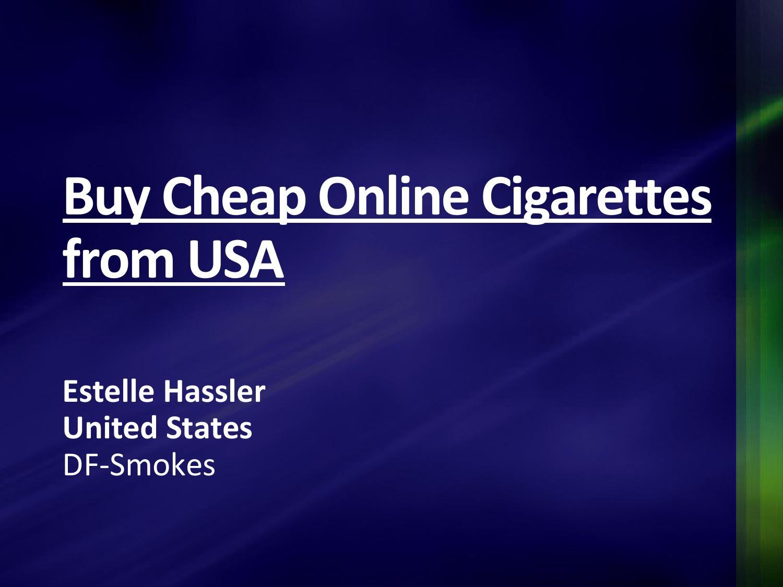 Online cigarettes Marlboro retailer