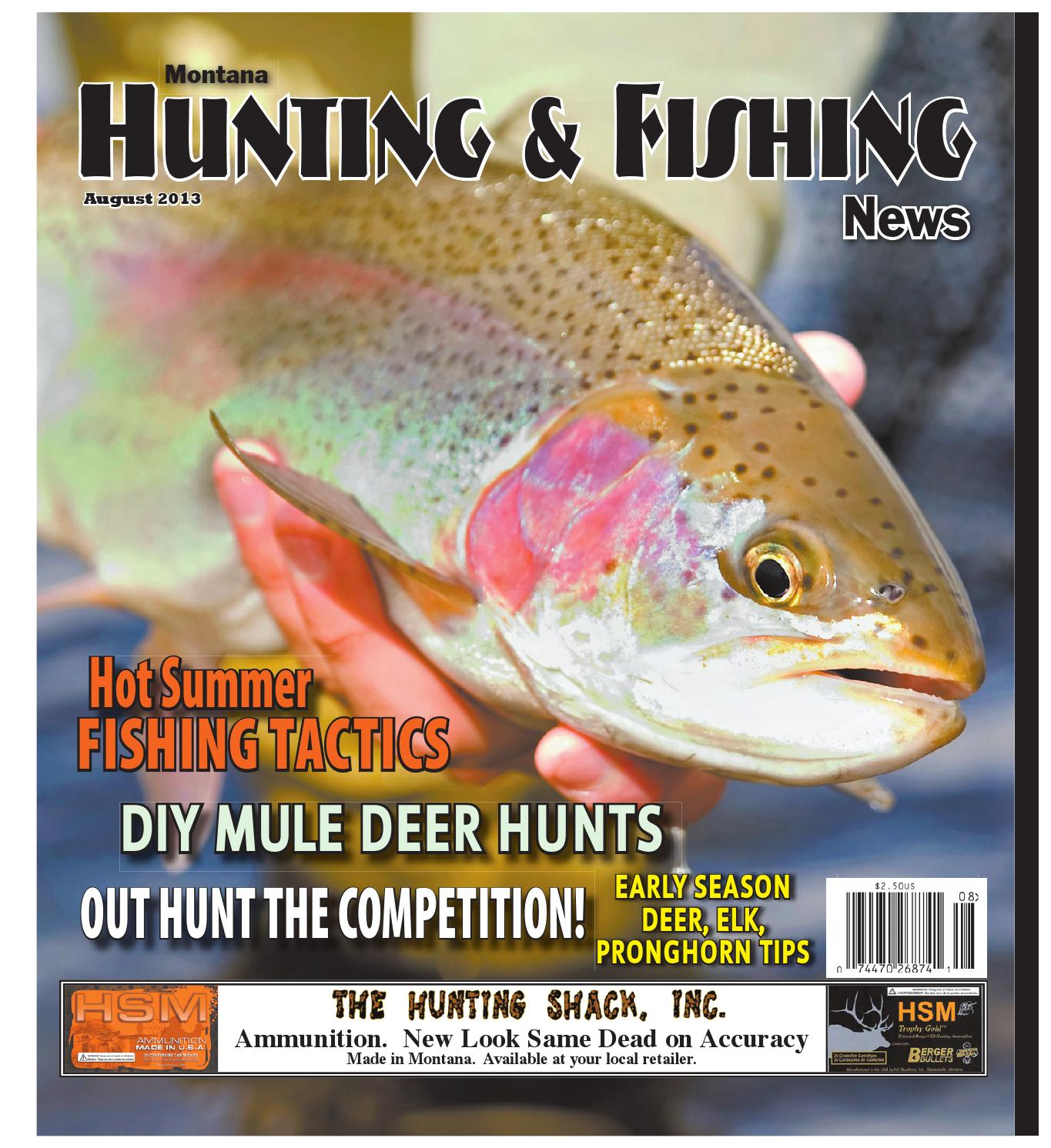 Hunting Fishing News August 2013 By Amy Haggerty Issuu Bypass The Thermal Switch Yamaha Grizzly Atv Forum