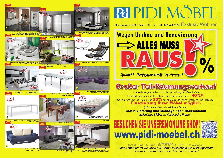 Pidi Möbel AG by Pidi Möbel AG - issuu