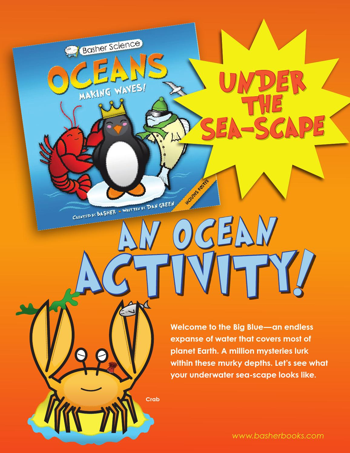 Basher Science: Oceans_Under the Seascape Activity by Kingfisher -  Macmillan - issuu