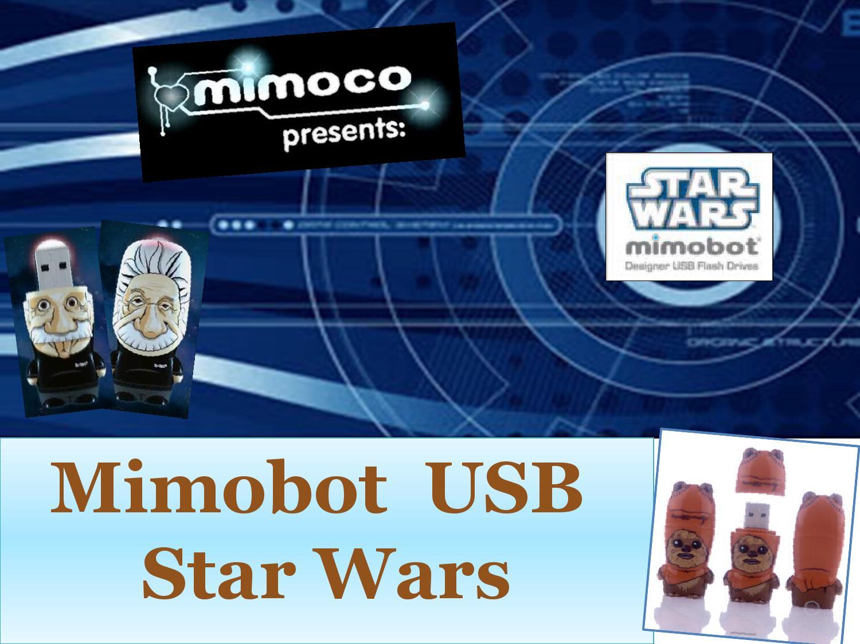 MIMOCO SW MIMOBOT Memoria USB R2-D2 8 GB
