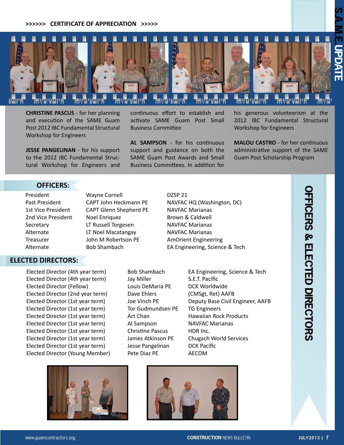 Gca Construction News Bulletin July 2013 By Geri Leon Guerrero Issuu