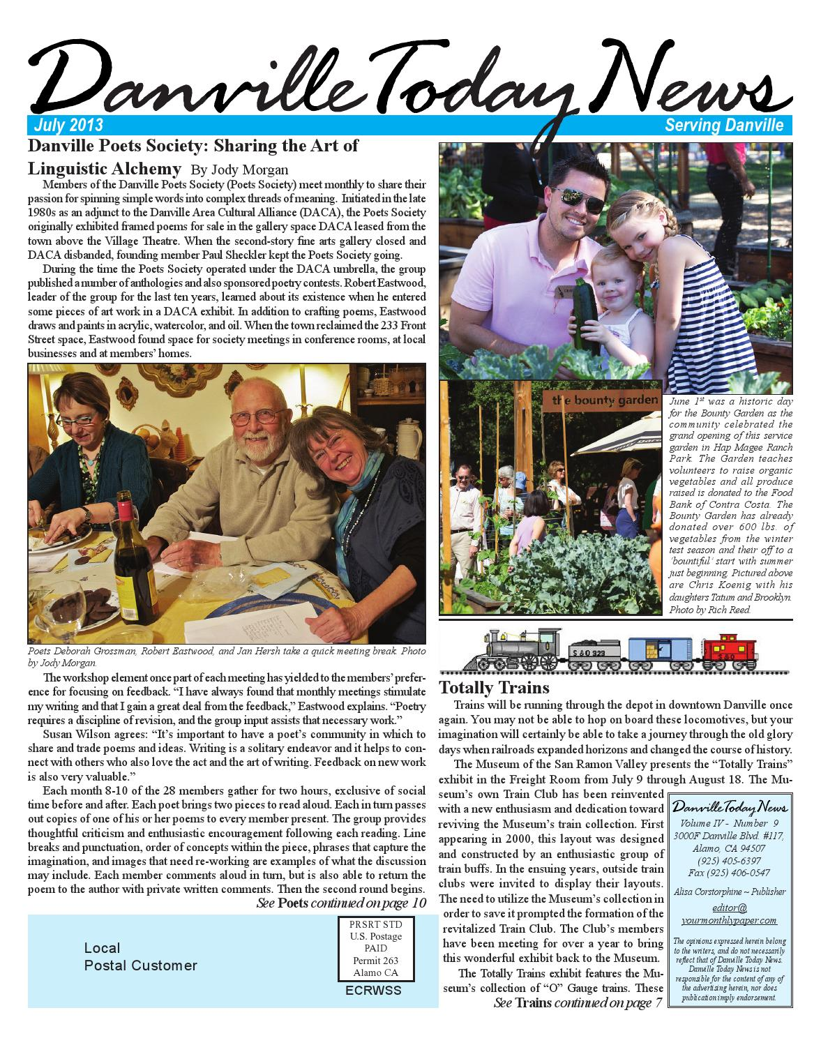 Danville Today News, July 2013  by The Editors, Inc - issuu