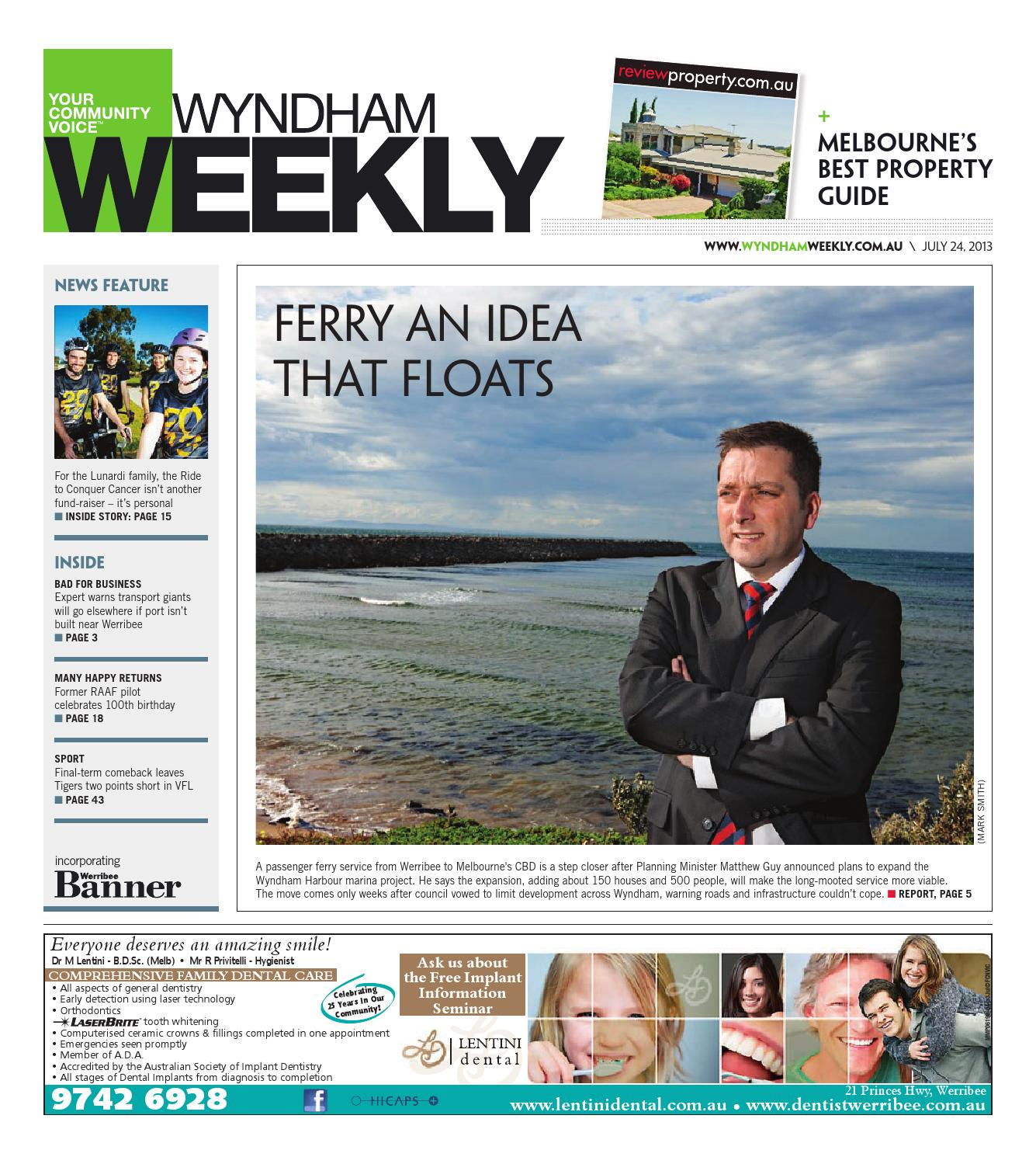 Wyndhamweekly240713 by The Weekly Review - issuu