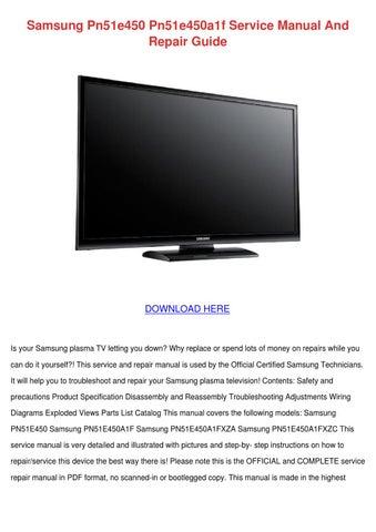 SAMSUNG PN51E450A1F PLASMA TV WINDOWS 8.1 DRIVER DOWNLOAD