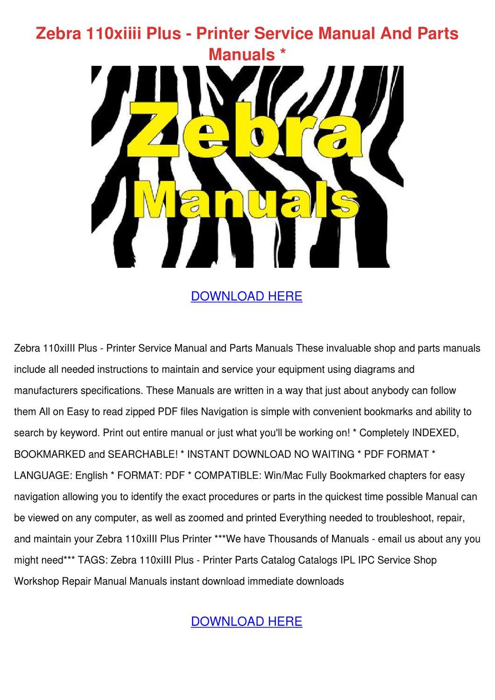 Zebra Printer Manual | McCarthy Blue Springs Hyundai Blog