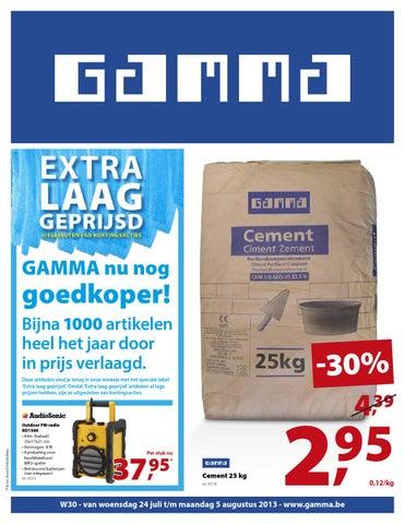 Stoeptegels 30x30 Gamma.Gamma Folder Geldig Tot 28 07 By Broshuri Issuu
