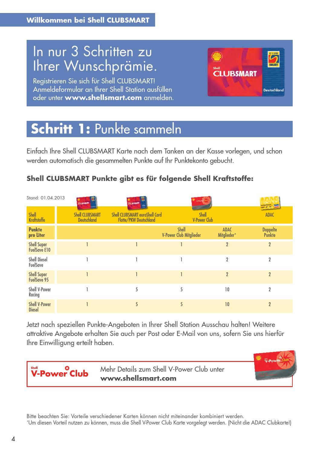 Shell Clubsmart Deutschland