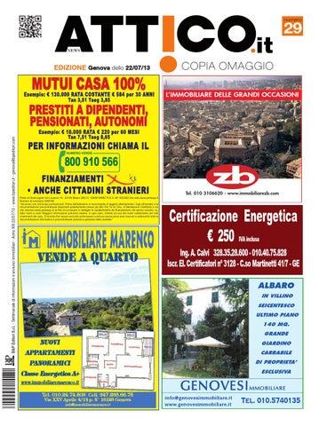 Attico Genova N 29 2013 By B P Editori Issuu