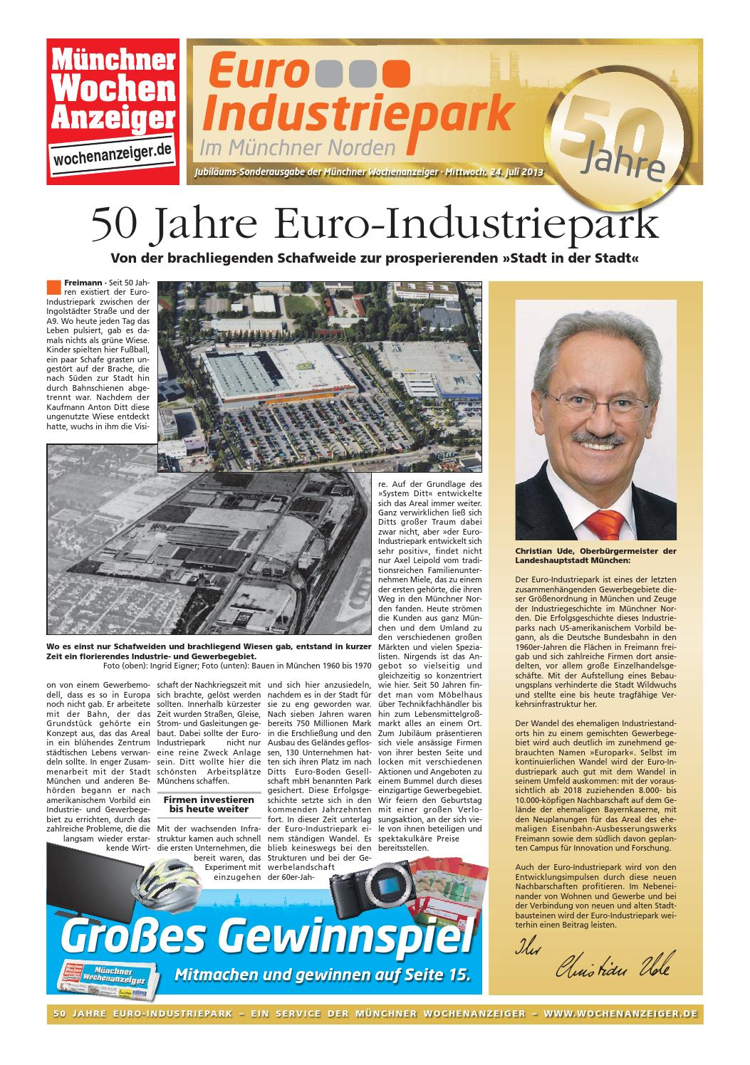 50 jahre euro industriepark by m nchner wochenanzeiger issuu. Black Bedroom Furniture Sets. Home Design Ideas
