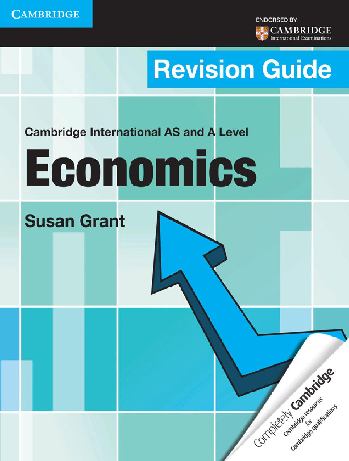 Anforme revision guide to a2 level economics and business.