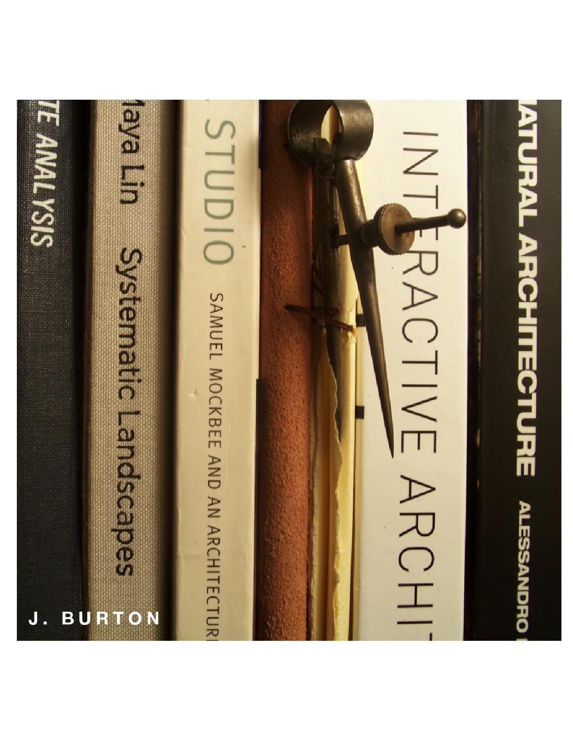 Project List By Joseph Burton Issuu