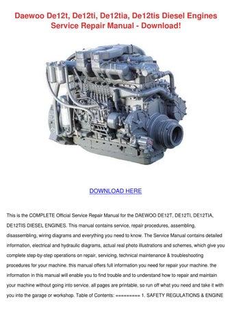 daewoo de12t de12ti de12tia de12tis diesel en by minniemorey issuu