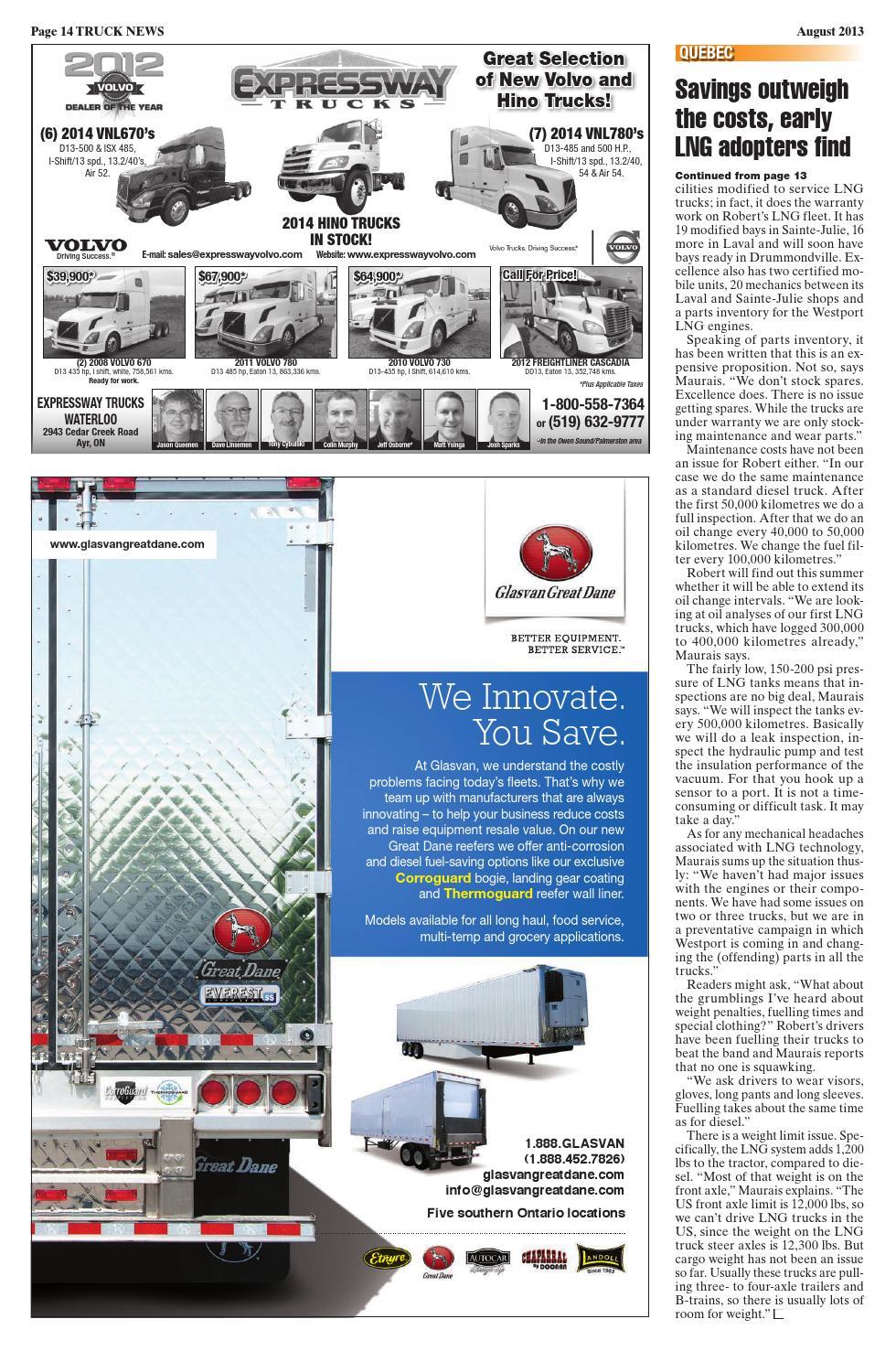 Truck News August 2013 by Annex Business Media - issuu